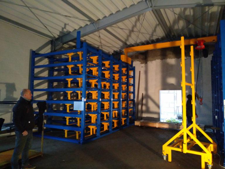 Custom crane bridge installations
