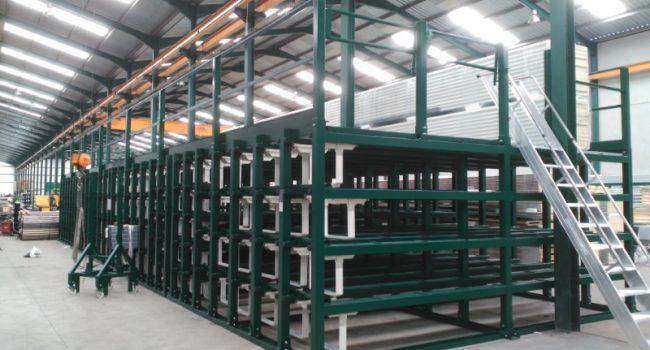 Custom installations between columns